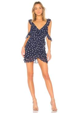 lpa-Navy-Polka-Dot-Ruffle-Wrap-Dress