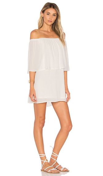 Discount The Most Popular Show Me Your Mumu Mako Mini Dress White Challis For Women On Sale Online 3796_1